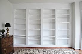 Ikea Billy Bookcase Door Diy Built In Custom Bookshelves Using Ikea Billy Bookcases Hack