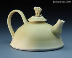 buy translucent porcelain teapots from mississippi ceramic artist
