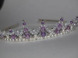 handmade tiaras 499 best ビーズティアラ images on tiaras crowns and