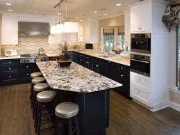 backsplash tile for white kitchen two colored cabinets island countertop tile white cabinets design