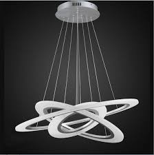 led design wholesale modern led chandelier lights acrylic rectangles led