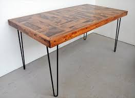 The 25 Best Wood Tables Ideas On Pinterest Wood Table Diy Wood by Remarkable Steel Legs For Furniture And Diy Pallet Wood Dining