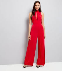Red Jumpsuits For Ladies Playsuits U0026 Jumpsuits New Look