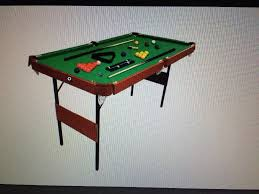 4ft pool table folding foldable 4ft 6inches snooker table in downend bristol gumtree