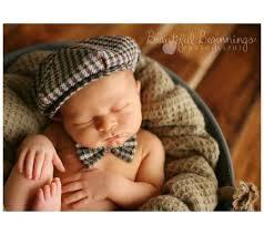 Baby Boy Photo Props Newborn Photo Prop Gray Newborn Hat Infant Photo Prop Necktie