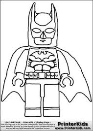 Lego Superman Coloring Pages Coloring Pages Kids Birthday