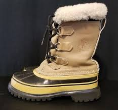 s sorel caribou boots size 9 vtg sorel kaufman caribou pac boots winter lined leather