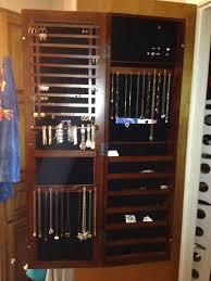 White Jewelry Armoire Mirror Jewelry Wall Mount Armoire U2013 Perfectgreenlawn Com