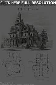 gothic victorian mansion floor plan historic house plans fine