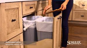 Schuler Kitchen Cabinets Schuler Cabinetry Automated Drive Youtube