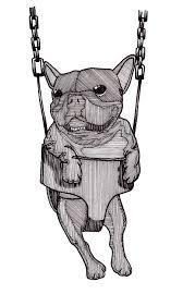 french bulldog peteglantingdraws
