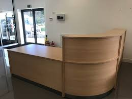Preloved Reception Desk Wakefield Office Furniture Ltd Used Office Furniture Used And