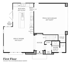 the gale floor plan cordova at gale ranch the rosata home design rancho chamber of