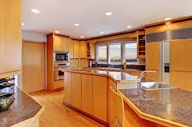 grande cuisine moderne grande cuisine en bois moderne de luxe photo stock image du