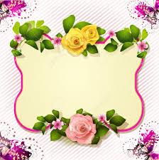 mirror with roses and butterfly royalty free cliparts vectors and