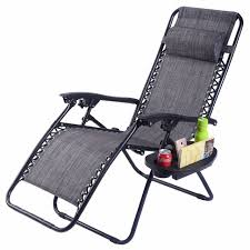 Reclining Gravity Chair Guplus Folding Zero Gravity Chair Outdoor Picnic Cing Sunbath