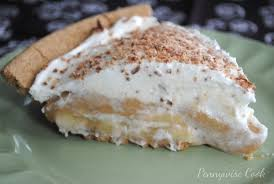 caramel banana pie pennywise cook