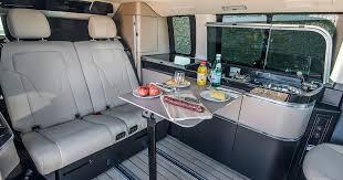 volkswagen california interior mercedes benz marco polo más que camping