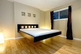 Stylish Bed Frames Modern Floating Bed Floating Bed Frame To Make The Room More