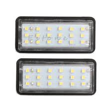 lexus gx warning lights 2x led license plate light no free for toyota land cruiser prado