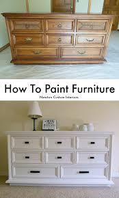 How To Get A Sofa Through A Narrow Door How To Paint Furniture Newton Custom Interiors