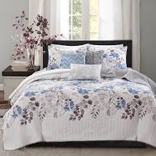Duvet Vs Coverlet Madison Park Raven 6 Piece Quilted Coverlet Set On Sale Free