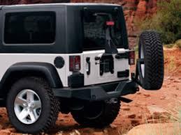 jeep wrangler road bumper jeep wrangler bumper rear road satin black part no 82213579ac