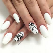 top 25 best white nail art ideas on pinterest gold tip nails