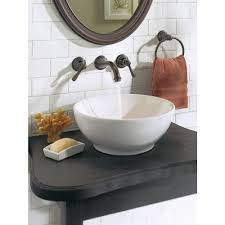 bathroom awesome wall mount waterfall tub faucet rubbed