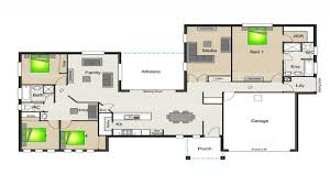stunning house plan with breezeway gallery best image home ideas
