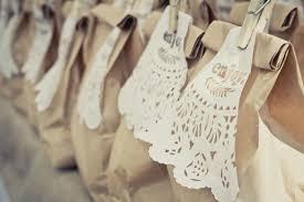 wedding favor bags paper bag wedding favor ideas lading for