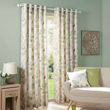 ezra green lined eyelet curtains dunelm bedroom pinterest