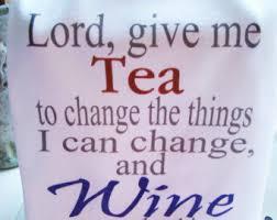 Kitchen Tea Gift Ideas Funny Tea Towel Lord Give Me Tea Wine Prayer Kitchen