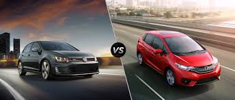 volkswagen tsi vs gti 2016 volkswagen golf gti vs 2016 honda fit