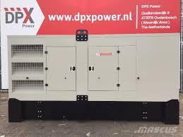 used volvo tad1345ge 550kva dpx 17710 diesel generators year
