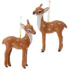 faux fur deer ornaments store