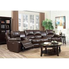 Cineak Seating Prices by Home Theater Sectional Sofa Abbyson Newport Upholstered Sofa