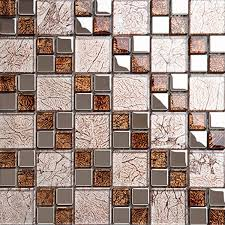 Design Of Kitchen Tiles Glass Mosaics Kitchen Tiles Design Decorative Wall Tile