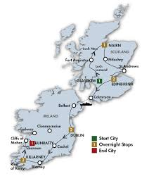 Taste Of Chicago Map Scotland Vacation Package All Inclusive Trip To Ireland