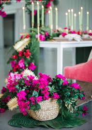 Leaf Table Runner Monstera Leaf Mat Artificial Tropical Plants Afloral Com