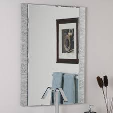 Framing Bathroom Mirror by Shop Decor Wonderland Molten 23 6 In X 31 5 In Rectangular Framed
