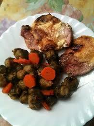 cuisiner la palette de porc recette de palette de porc et choux de bruxelles