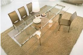 italian extendable dining table italian glass dining room tables joseph o hughes