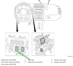 where is the ac compressor relay located on a altima nissan