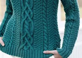 cable sweater the turns and twists of aran sweater design