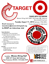 Target Pharmacy Job Application Target Express On Ocean Ave United Way Bay Area