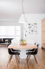 kitchen island and dining table dining table attached to the kitchen island theydesign with regard