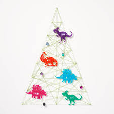 Dinosaur Christmas Tree Decorations by Personalised Christmas Dinosaur Bauble By Owl U0026 Otter