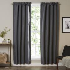 blind u0026 curtain soundproof curtains target front door window