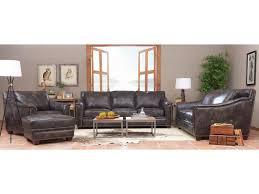elliston place wilkesboro leather sofa with nailhead studs and